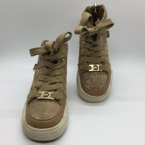 Michael Kors Kids Hi-Top Sneakers Shoes     (VY)